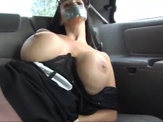 Bound and gagged in car