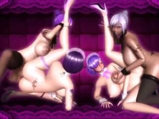 2 Shemale Vs 2 Girls (Overdose1)