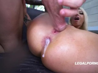 Exploding cumfarts – Gia Love farts cum all over camera lens