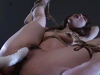 Strong scenes of pure bondage with Rina  – More at javHD.net