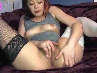 Beautiful pinay slut rubs her clit til she cums Goddess Zenith