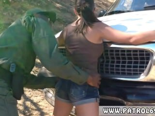 Fake taxi police woman Latina Babe Fucked